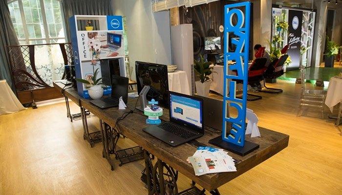 Dòng máy tính xách tay Dell Inspiron 15 7000 Gaming – 7566 được trang bị bộ tản nhiệt mạnh mẽ