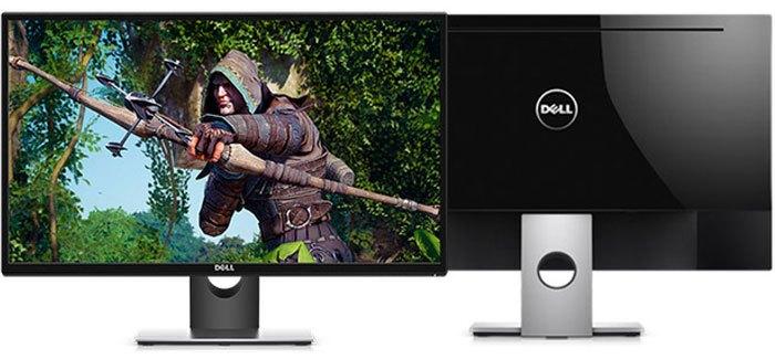 Ngay cả người dùng khó tính cũng phải xiêu lòng với chất lượng hiển thị của màn hình máy tính Dell LCD SE2717H