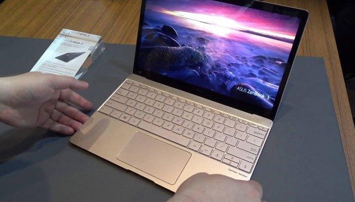 Một phiên bản hoàn hảo từ máy tính xách tay ZenBook 3