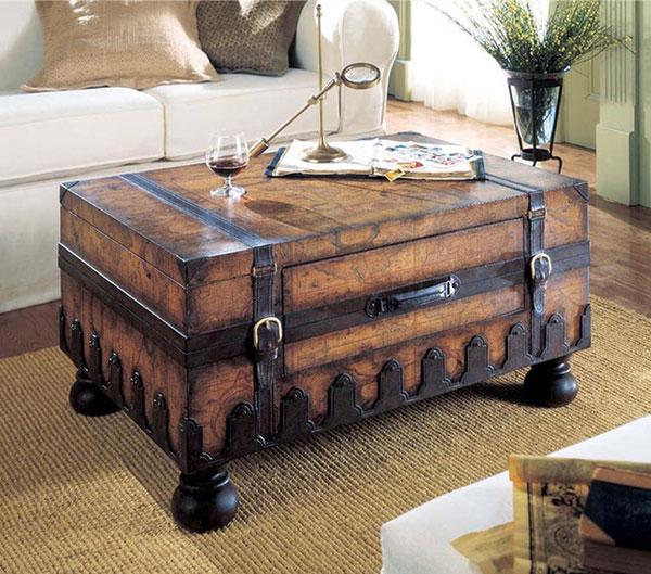 Ban có thể sử dụng không gian bên trong những chiếc vali làm nơi cất trữ đồ dùng vô cùng tiện lợi