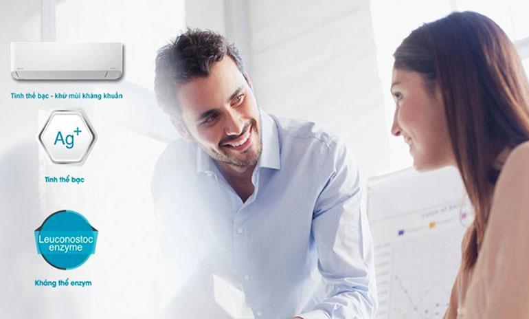 Máy lạnh Toshiba khử mùi, kháng khuẩn hiệu quả, bảo vệ tối ưu sức khỏe người dùng