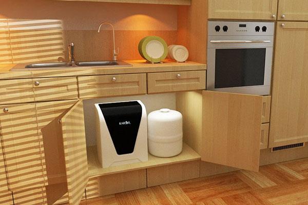 Máy lọc nước dưới gầm là sự lựa chọn hợp lý cho nhà bếp chung cư