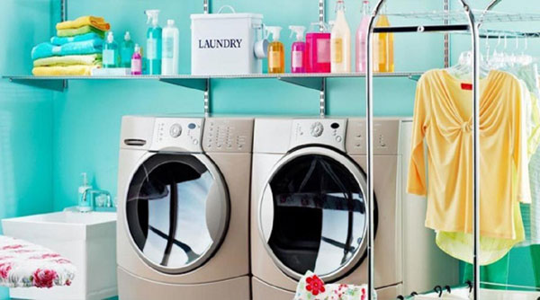 Khi vệ sinh máy giặt hãy làm sạch cả bên trong lẫn ngoài