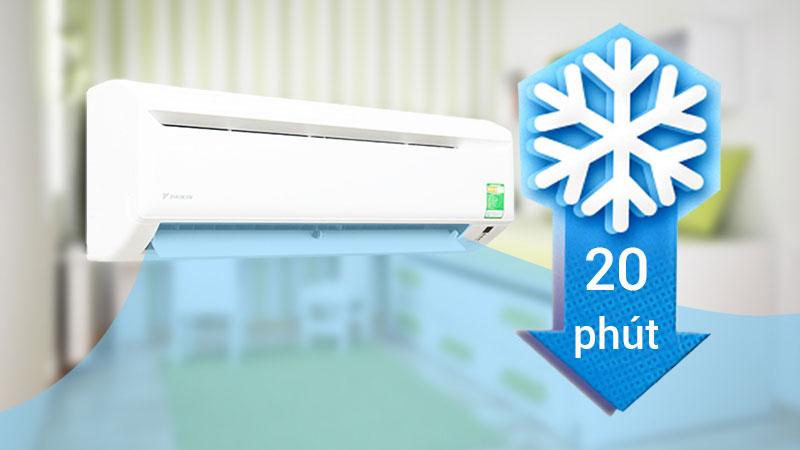 Bạn có thể tìm thấy chế độ Turbotrên máy lạnh Electrolux, Samsung, Daikin...