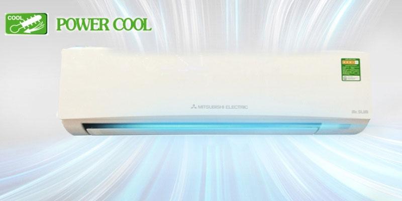 Powerful Cool là chế độ làm lạnh nhanh của những chiếc máy lạnh đến từ Daikin hoặc Mitsubishi