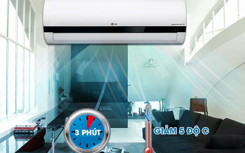 Hạ nhiệt căn phòng nhanh chóng với chế độ Jet Cool