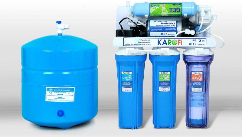 Máy lọc nước có nhiều lõi giúp lọc sạch hiệu quả nguồn nước sử dụng