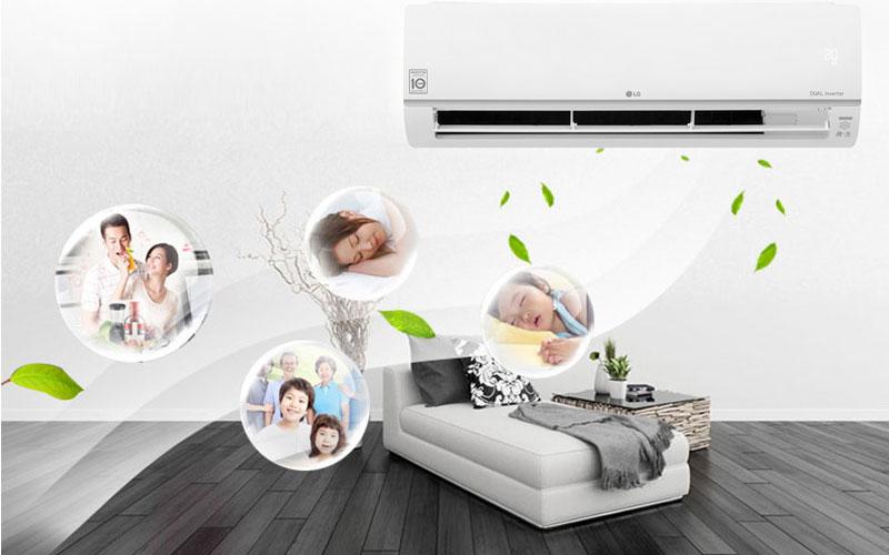 Hẹn giờ máy lạnh sẽ giúp bạn không mất thời gian canh từng giờ để tắt hay khởi động máy