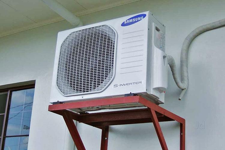 Có thể block trên máy lạnh đã bị hỏng khiến cục nóng không hoạt động
