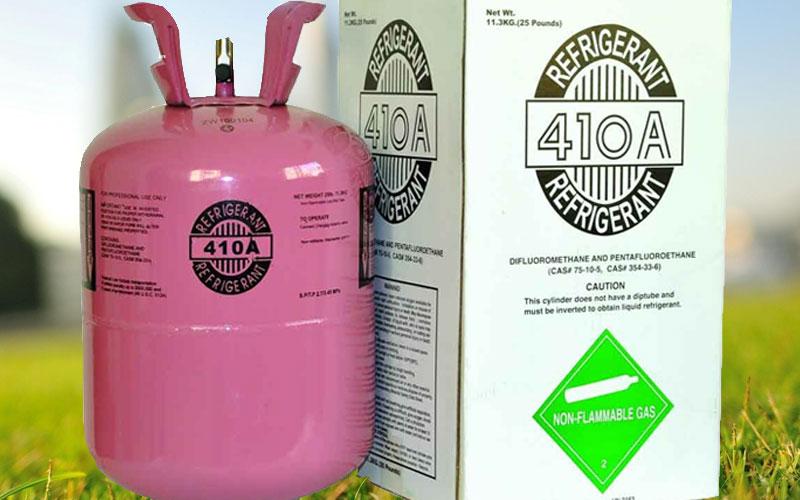 Gas R410A an toàn cho môi trường hơn so với gas R22