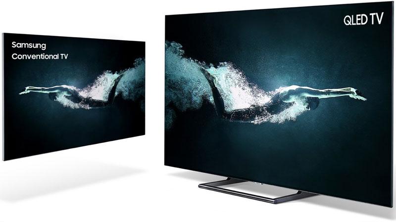 TV Samsung QLED 2018 có độ phân giải cực cao mang đến những hình ảnh sắc nét đến từng chi tiết