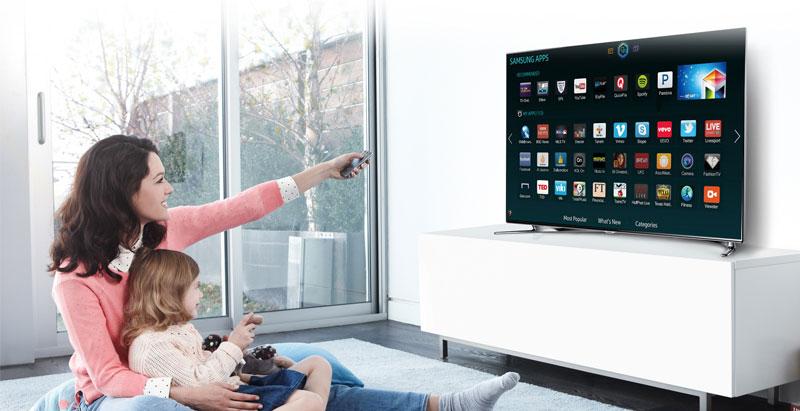 Smart tivi và Internet tivi đều có khả năng kết nối mạng