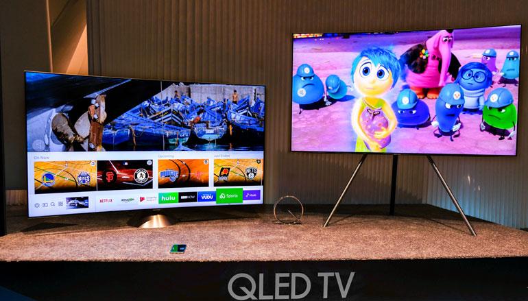 Thông tin cho rằng Samsung sẽ mang trợ lý ảo Bixby vào TV QLED 2018