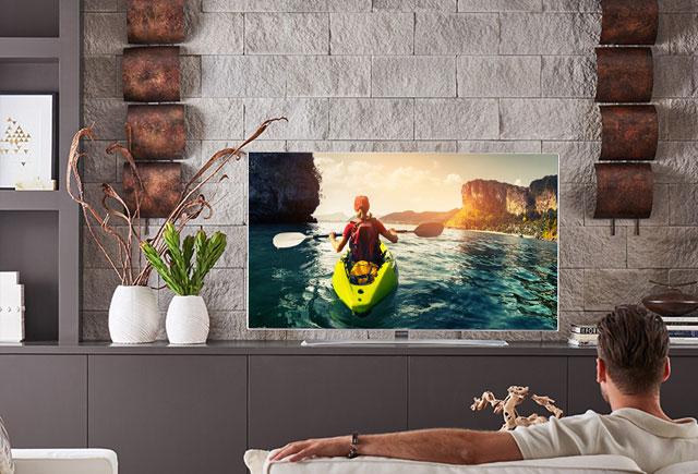 Tivi OLED 4K LG cho hình ảnh đạt độ tương phản tối đa