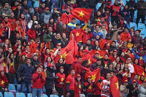 Hòa cùng không khí tự hào và chờ đợi những bất ngờ từ U23 Việt Nam