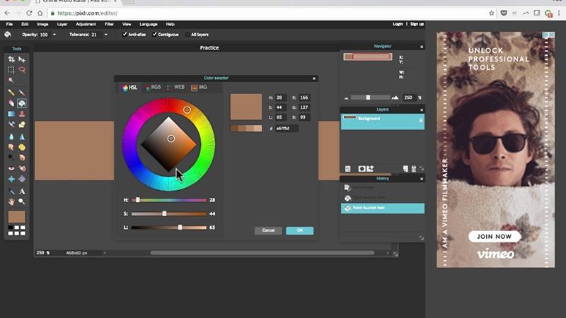 App chỉnh ảnh Pixlr có nhiều tính năng thú vị