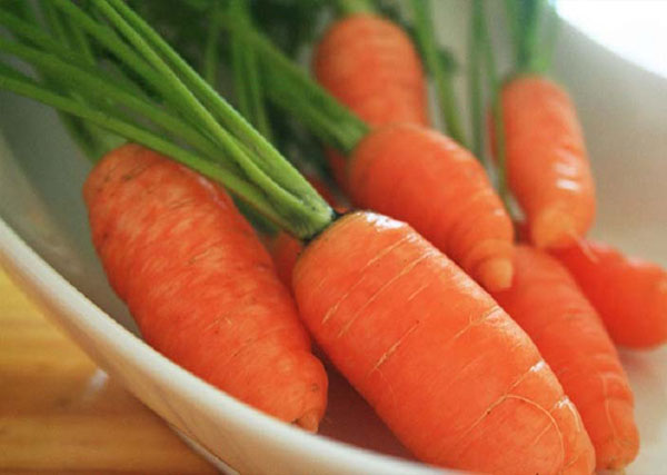 Lò có thể bị hỏng do ngọn lửa phát ra từ cà rốt