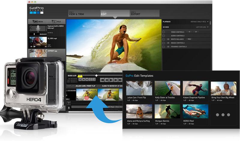 GoPro Studio là công cụ biên tập video đáng dùng
