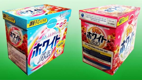 Khách hàng nhận được tin nhắn, tờ rơi hãy mang chúng đến Nguyễn Kim Quận 2 để nhận phần quà là 1 hộp bột giặt Wai