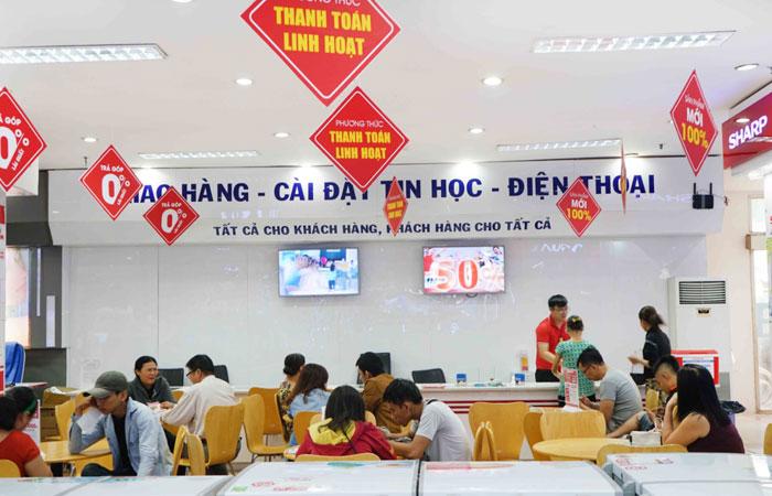 Nguyễn Kim cài đặt điện thoại miễn phí cho quý khách