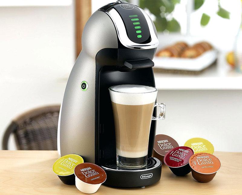 Máy pha cà phê viên nén là loại mới xuất hiện trên thị trường