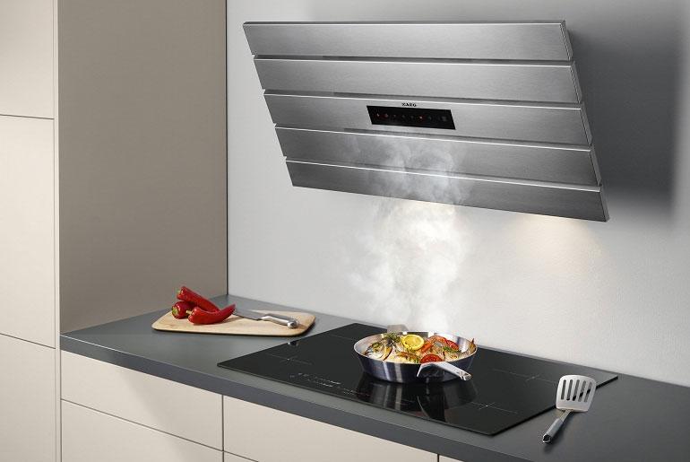 Máy hút mùi có than hoạt tính thích hợp cho các gian bếp nhiều khói và mùi hôi