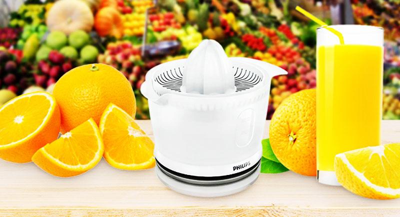 Người dùng sẽ tiết kiệm nhiều thời  gian và công sức khi làm nước cam và vệ sinh thiết bị