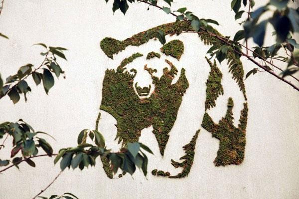 Bạn có thể vẽ lên tường những hình thú đáng yêu, mang thiên nhiên về ngôi nhà.