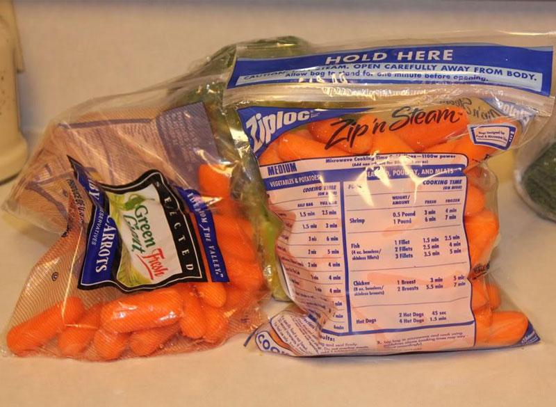 Với những sản phẩm tươi sống như gà, cá, khoai tây... chỉ cần những chiếc túi hơi bảo quán chúng có thể là mọi thứ đều có thể bỏ lò được rồi. Hơn nữa chúng còn rất tiện lợi, bạn có thể mua chúng ở bất kỳ cửa hàng online hay offline nào cũng được.