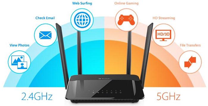 Thay đổi tần số: Một số router có hai tần số phát sóng là 2,4 GHz và 5 GHz. Tần số 5 GHz cung cấp tốc độ nhanh, tuy nhiên khoảng cách ngắn. Tần số 2,4 GHz có tốc độ thấp hơn nhưng cho phép di chuyển xa. Tùy trường hợp sử dụng, ta có thể lựa chọn tần số thích hợp