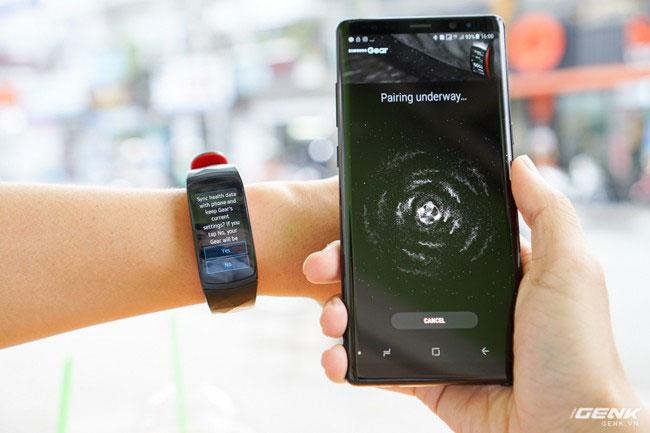 Bắt đầu kết nối với điện thoại Samsung