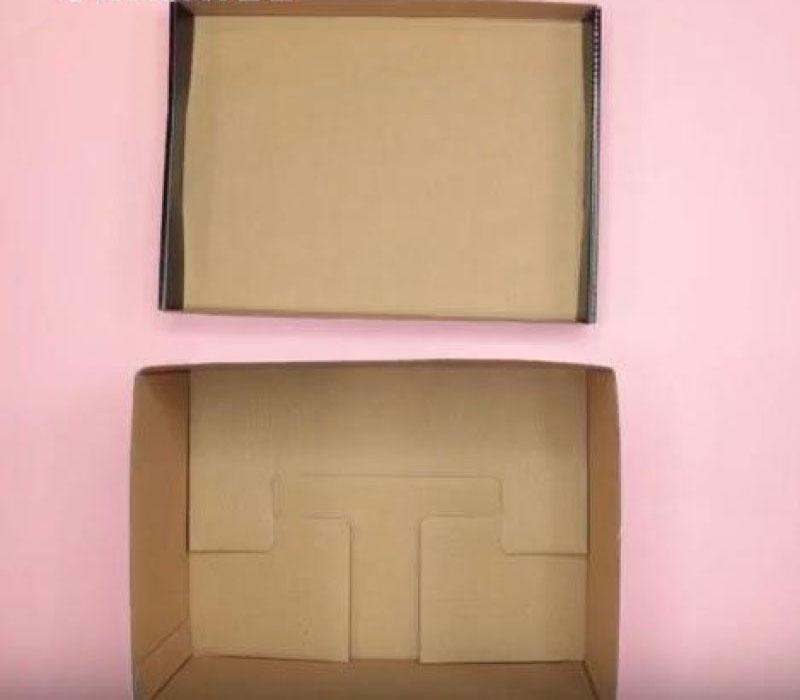 Chuẩn bị một hộp vuông