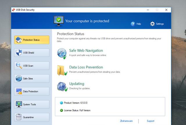 Bạn có thể sử dụng thêm USB Disk Security để bảo vệ an toàn cho máy tính của mình