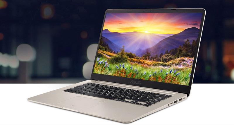 Thiết kế thanh mảnh, gọn nhẹ của laptop ASUS giúp bạn dễ dàng mang theo khi di chuyển