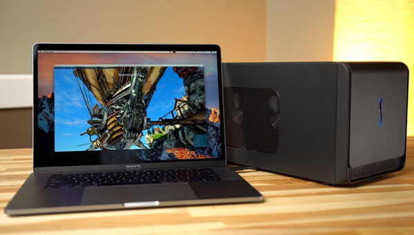 Người dùng Macbook Pro sẽ sớm khai thác sức mạnh eGPU tốt hơn