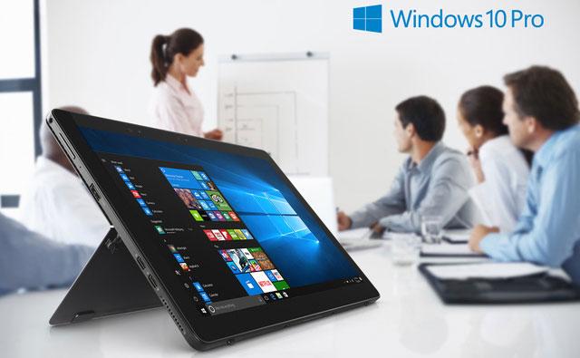 Mặt sau của Latitude 5290 2-trong-1 là một chân đế bằng kim loại, sẽ tự động mở ra khi người dùng đẩy cạnh dưới của máy tính bảng hướng xuống một bề mặt phẳng, tạo thành chiếc tablet hiện đại.