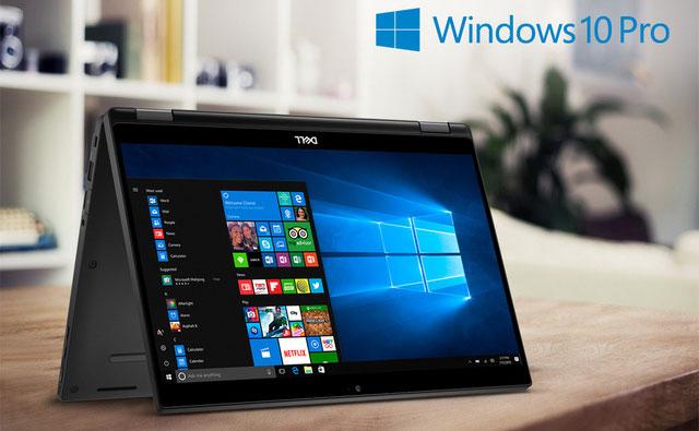 Latitude 7390 và các dòng sản phẩm Latitude khác đều hoạt động trên HĐH Windows 10 Pro