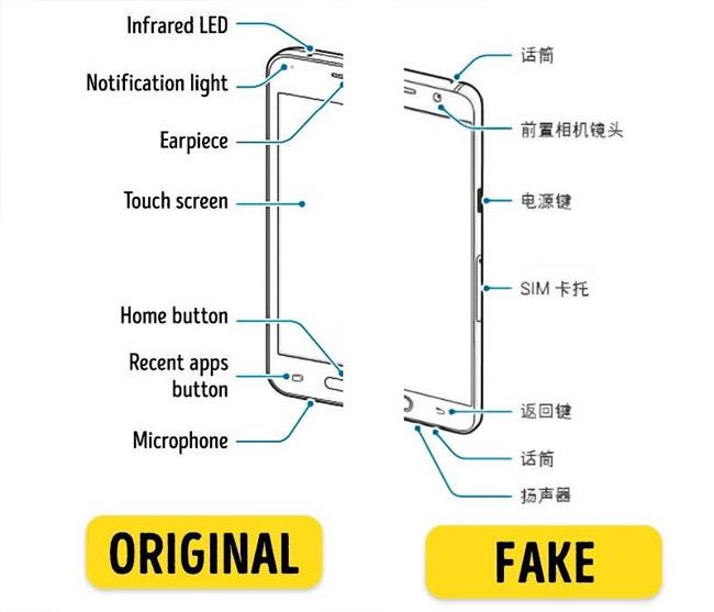 Hướng dẫn sử dụng cũng giúp bạn phân biệt điện thoại là hàng thật hay giả