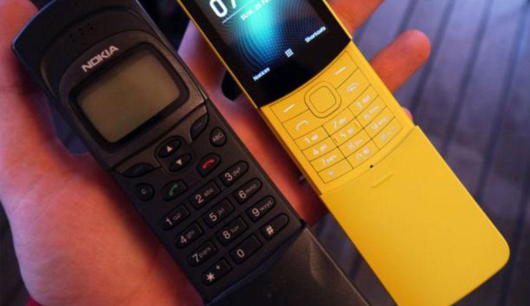 Nokia 8110 4G mang phong cách rất hoài cổ