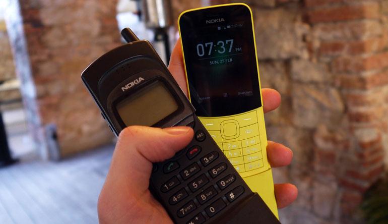 Nokia 8110 4G đã có màn hình màu