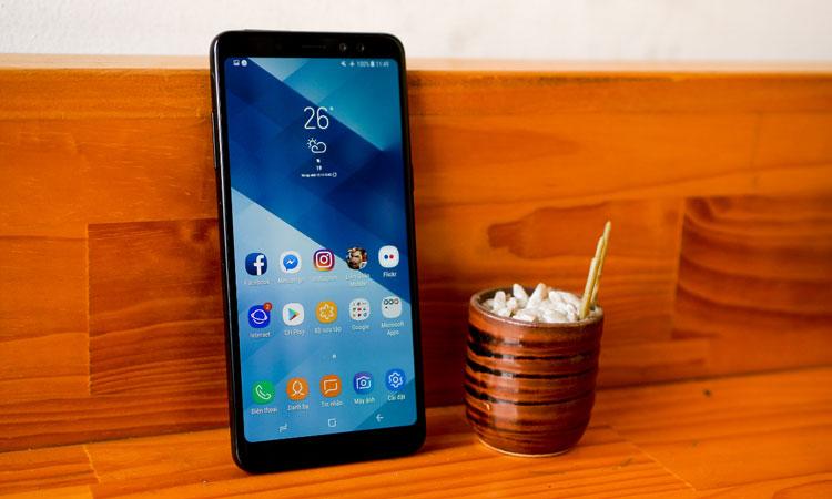 Galaxy A8/A8+ sở hữu màn hình tràn viền quyến rũ