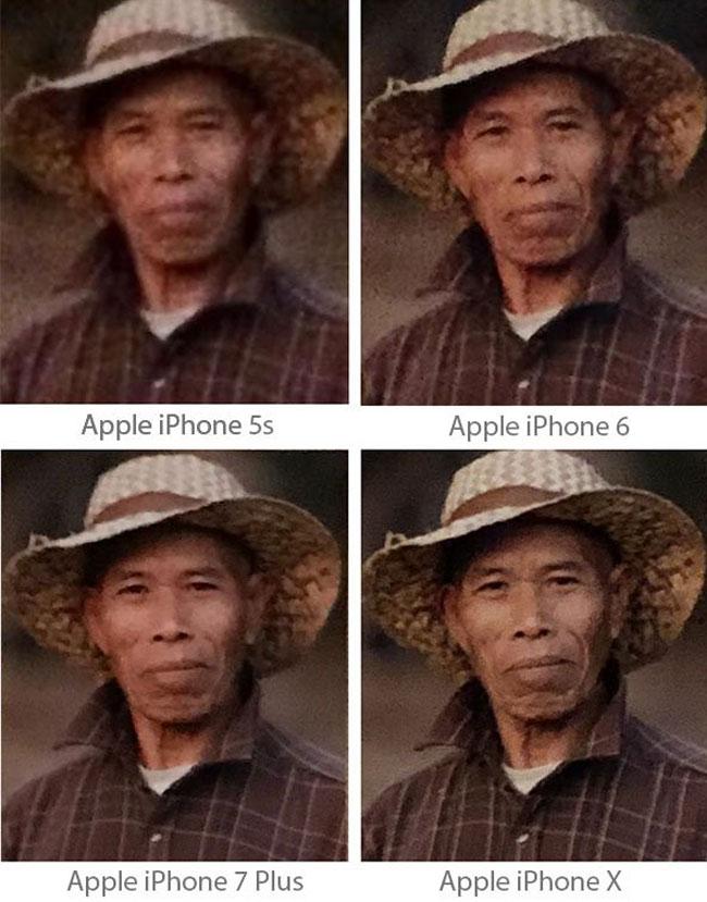 Chất lượng camera trên điện thoại iPhone từng thời kỳ
