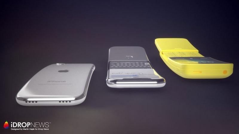 Có đến 2 logo Apple trên điện thoại