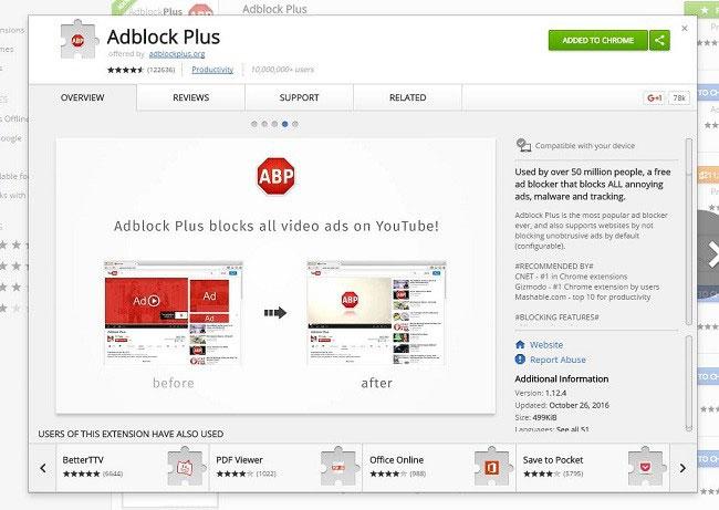Hãy chặn bớt quảng cáo để truy cập mạng tốt hơn