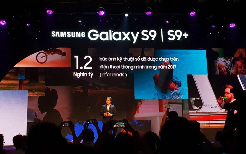 Ông Nguyễn Quang Hiền Huy – Phó Tổng giám đốc, Giám đốc điều hành ngành hàng Thiết bị Di động Công ty Điện tử Samsung Vinasơ lược xu hướng chia sẻ bằng hình ảnh