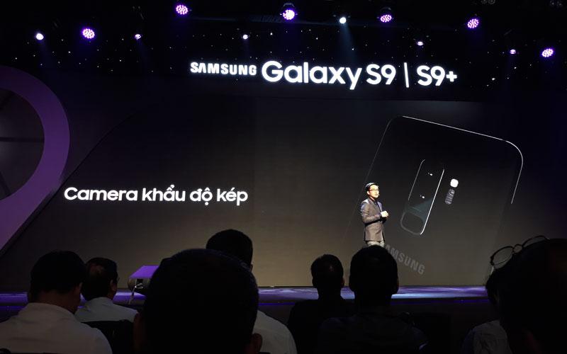 Galaxy S9/S9+ sở hữu camera khẩu độ kép có thể tự thay đổi theo điều kiện môi trường như mắt người