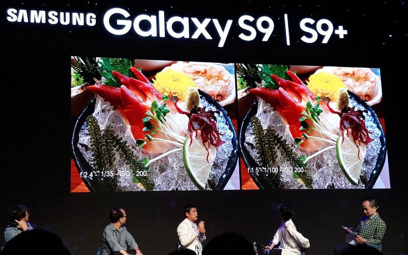 Nhiếp ảnh gia Minh Hòa rất ấn tượng với khả năng xáo phông trên Galaxy S9/S9+