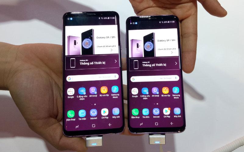 """Galaxy S9+ và """"đứa em"""" Galaxy S9"""