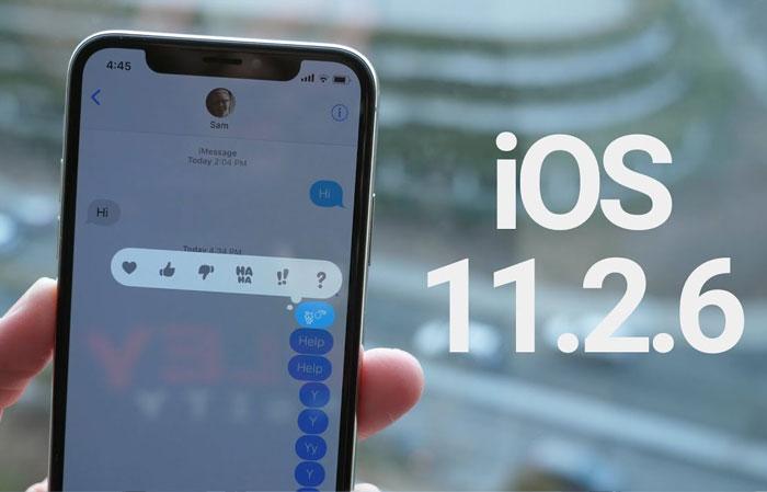 Apple tung ra iOS 11.2.6 vá lỗi tin nhắn chứa ký tự tiếng Tegulu