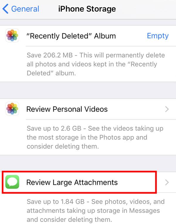 Xoá ảnh và video trong Messages sẽ giải phóng bộ nhớ cho chiếc iPhone của bạn